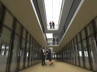 Business Building - Interior Renderings