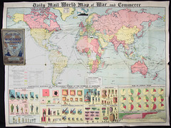 Daily Mail WORLD MAP of War & Commerce (Madison Historical Society) Tags: old usa history museum poster photo interesting nikon image connecticut interior military country wwi picture newengland ct places indoor worldwari madison historical inside greatwar firstworldwar route1 mhs conn 1stworldwar d600 bostonpostroad nikond600 leeacademy madisonhistoricalsociety madisonhistory bobgundersen