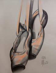 () Tags: pencil graphic drawing points graphite pointshoes