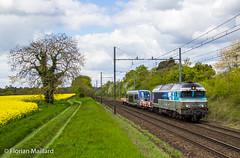 CC 72138  Bourron-Marlotte (bb9221) Tags: voyage en paris st train wagon ic centre le locomotive clermont pac sncf bourget ter nevers stouen ouen 72000 72100 cc72000 raccord cc72100 acheminement