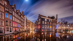 Amsterdam Red light (l3v1k) Tags: city longexposure bridge houses sky urban house motion blur holland reflection water netherlands dutch amsterdam architecture night buildings reflections outdoors lights town canal scenery long exposure cityscape time nobody scene structure junction illuminated redlight redlightdistrict waterway gracht waterscape movingclouds canalhouses dutchscenery waterroad 500px ifttt