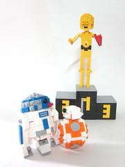 Which one is your favourite? (tkh / ieyasu) Tags: starwars lego r2d2 c3po bb8