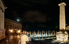 Night sky on Rome (simone_aramini) Tags: italy rome roma night landscape landscapes nikon ngc naturallight nightlight inverno manfrotto longexposures nikond200 nationalgeografic italianlandscapes ilbelpaese