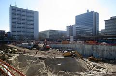 Baustelle Bahnhofsplatz 22 (Susanne Schweers) Tags: max baustelle architektur bremen architekt citygate hochhuser bahnhofsplatz dudler maxdudler bebauung