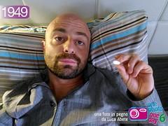 Foto in Pegno n 1949 (Luca Abete ONEphotoONEday) Tags: me 1 salute pillow riposo aprile influenza letto 1949 selfie salus 2016 febbre malattia pillola malanno