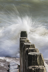 Shoreham Beach (tim.clarke37) Tags: sea seascape beach water sussex seaside waves shore groyne shoreham shorehambysea groynes beachscape