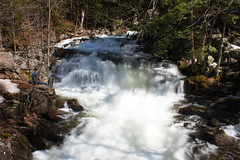 Waterfall at the Ruins (jeanette.alexiuk) Tags: ontario canada green nature water canon landscape waterfall spring ruins rocks ottawa gatineau theruins gatineauhills