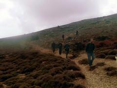 Ikaria's remotest hinterland 59 - followed by the mountain mist (angeloska) Tags: fog march plateau ikaria aegean greece hikers deforestation pezi desertification hinterland hikingtrails   langada overgrazing ikarians      vrakades  opsikarias
