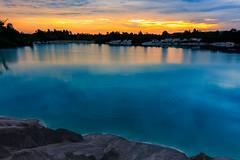 Belitung Photo Trip (Irwin Day) Tags: morning sunset sea cloud beach sunrise landscape laut pantai danau kaolin belitung lanskap belitong