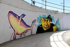 Cernusco Lombardone (CarloAlessioCozzolino) Tags: trainstation murales stazione cernuscolombardone