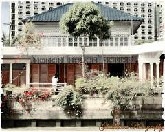 The house (Ghatahora Photography) Tags: thailand singapore chaophrayariver boathouses hampshirephotographer songsoftheseasingapore bhupinderghatahora ghatahoraphotography chinesepogodatowertemple floatingmarketchaophraya tourriverbangkokthailand marketoutsidewatarun