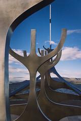 Slfar (jdelrivero) Tags: sculpture costa is iceland islandia arte reykjavik escultura lugares fiordo geologia slfar paises hfuborgarsvi