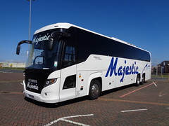 YT15AWG Majestic in Blackpool (j.a.sanderson) Tags: coach horton ke majestic ta blackpool touring coaches scania wolverhampton higer c57ft k440eb6 yt15awg