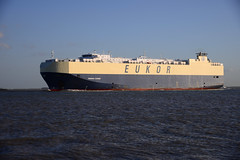 Morning Courier (larry_antwerp) Tags: ship vessel schelde roro  schip      eukor  pctc        9285639