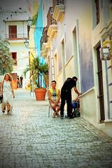 San Juan Street Scene (dorameulman) Tags: vacation color puertorico streetscene sanjuan caribbean streetscape travelphotography dorameulman