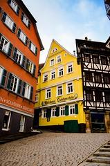 Altstadt  Old City of Tbingen (eagle1effi) Tags: old city morning germany early town nikon experiment kitlens 1855mm altstadt tuebingen tbingen deutchland wrttemberg morgengrauen d5100 dibenga gogenstadt