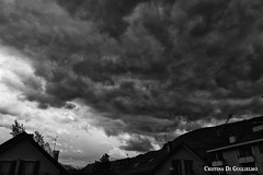 hell (Cristina Digu) Tags: sky blackandwhite bw italy nature clouds composition canon landscape photography cloudporn montain canon1000d