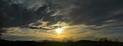 2016_0425Sunset-Pano0004 (maineman152 (Lou)) Tags: sunset sky panorama cloud sun nature clouds skyscape landscape cloudy maine april sundog cloudysky skyview naturephotography skyscene landscapephotography naturephoto skycolor skycolors springsky skydrama landscapephoto