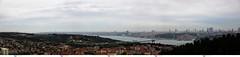 Tepeden baklan stanbul (Booo Zone) Tags: panorama canon turkiye istanbul panoramic dslr bosphorus bosphore 5dsr