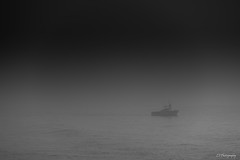 Mist defector (.KiLTRo.) Tags: ocean california sea mist water fog boat unitedstates santamonica kiltro