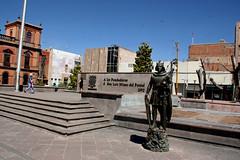 019 San Luis Statue, Plaza de Fundadores, San Luis Potosi (davidvictor513) Tags: mexico unescoworldheritagesite sanluispotosi