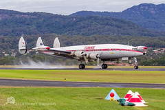 HARS Super Constellation (Nathen Sieben) Tags: airport super lockheed constellation hars illawarra l1049 vheag ywol