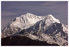 Mount Kabru massif,Pelling,West Sikkim (Anindya Roy Photography (catching up)) Tags: india mountain snow nature canon landscape peak himalaya range sikkim pelling kabru westsikkim kabrudome blackkabru kabrunorth kabrusouth