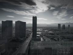 Vegas Skyline (daniellejdoran) Tags: vegas skyline moody cityscape lasvegas sincity mutedtones