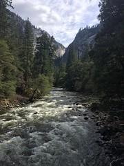 Merced River (Keelarah) Tags: nationalpark hiking yosemite yosemitenationalpark mercedriver