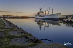 Black Rover (Paul's Picx) Tags: reflection water docks dock ship transport navy warehouse birkenhead fleet mersey tanker wirral royalnavy rfa rivermersey eastfloat royalfleetauxiliary blackrover