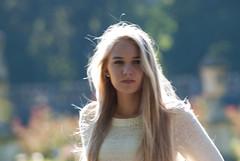 Caroline 1 (Klasil55) Tags: portrait girl beauty model dream blond blick haare sonnenlicht unschrfe