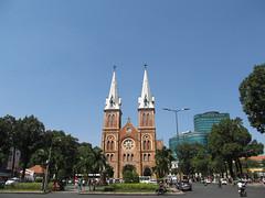 """Ho Chi Minh Ville: la cathédrale Notre-Dame <a style=""""margin-left:10px; font-size:0.8em;"""" href=""""http://www.flickr.com/photos/127723101@N04/23977719773/"""" target=""""_blank"""">@flickr</a>"""