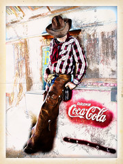02468746-72-Coca-Cola Cowboy-10-Hand Drawn (Jim would like to get on Explore this year) Tags: red art photoshop cowboy cola drawing cocacola cokebottles