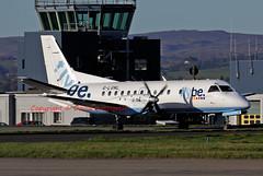 G-LGNL (David Unsworth (davidu)) Tags: uk plane airplane scotland airport log glasgow aircraft aviation air jet airline logan saab airliner gla glasgowinternationalairport jetliner saab340 loganair glasgowinternational abbotsinch egpf saabscania sf340b glgnl davidunsworth daviduair