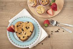 DSC_0214 (sevda.stancheva) Tags: food love cake dessert muffins heart sweet chocolate strawberries valentine delicious