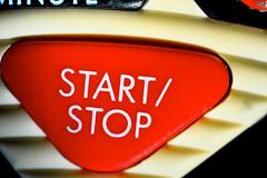 Start:Stop (donjuanmon) Tags: red macro button theme hmm macromondays donjuanmon
