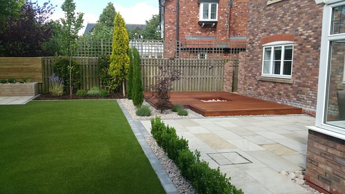 Landscape Gardening Wilmslow -  Decking Paving and Artificial Lawn Image 29