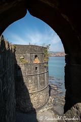 Janjira Fort (kaustubh.nerurkar) Tags: travel sea india heritage architecture fort maharashtra