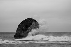 Freshwater Bay (Magicsparkles) Tags: sea waves freshwater freshwaterbay