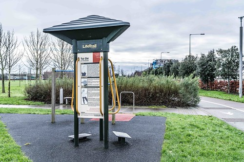 Wind Powered Public Park In Clongriffin Dublin [Father Collins Park]-110996