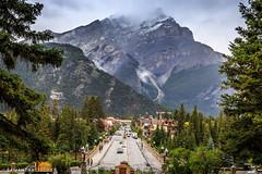 Banff Ave. (Samantha Decker) Tags: canada ab alberta rockymountains banffnationalpark parkscanada canadianrockies canonef24105mmf4lisusm canoneos6d samanthadecker