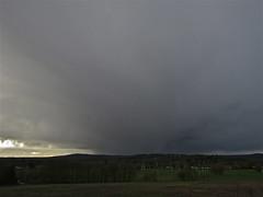 Get Indoors! (Deepgreen2009) Tags: storm rain weather dark grey ominous surrey shelter approaching brockham