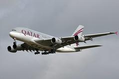 A7-APF  CDG (airlines470) Tags: airport a380 msn airways qatar cdg 189 a380800 a380861 a7apf