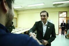 Pedro Passos Coelho vota para as Presidenciais 2016