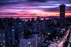Perfect sunset (Explored) (| Kamill Wieloch | Photography |) Tags: city sunset summer canada english night vancouver landscape bay nikon sonnenuntergang nacht sommer columbia stadt british landschaft kanada bucht kamill wieloch d3100