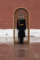 Soldier at Red Square (karpidis) Tags: travel moscow