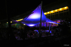 blue tent (harrypwt) Tags: city light night hotel togo lome s95 harrypwt canons95