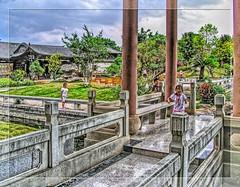 Jianshui, Yunnan (China) /Zhu2 (Bruno Zaffoni) Tags: china family garden famiglia yunnan cina chine giardino zhu jianshui