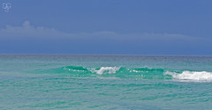 Destin Waves 2015-2: Sea and Sky (DGS Photography) Tags: ocean summer beach gulfofmexico clouds squall waves break florida thunderstorm destin miramarbeach
