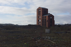 Former Distillery, Dumbarton (David_Leicafan) Tags: abandoned decay demolition whisky dumbarton distillery ballantines 50mmsummicronrigid